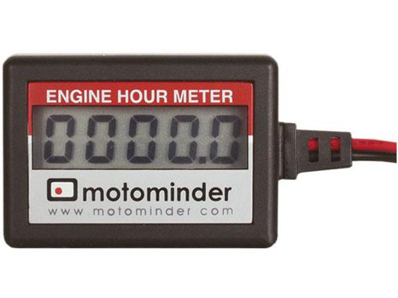 Engine Hour Meter : Motominder engine hour meter motostuff